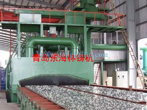 marble shot blasting machine