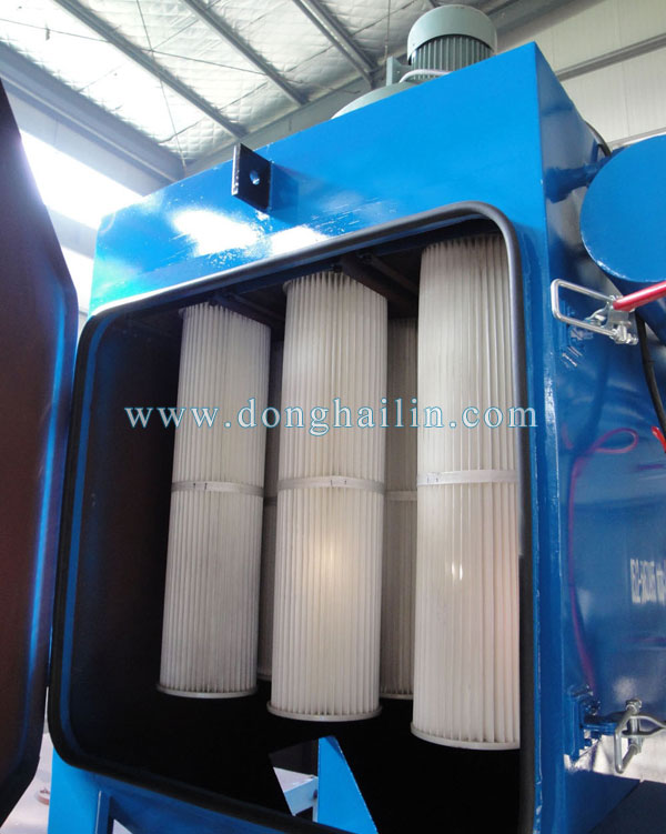 filter cartridge type dust collector