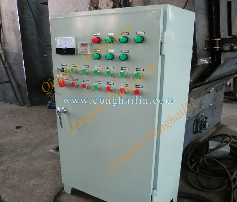 shot blasting machine spare parts