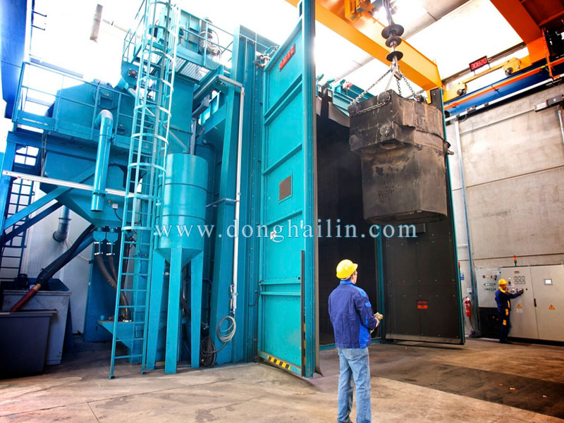 Q378 Huge hook type shot blasting machine