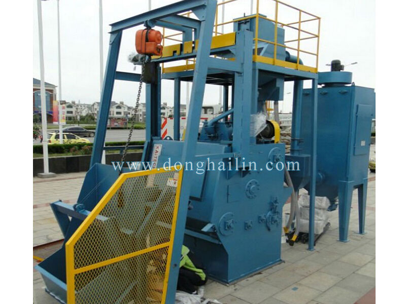 Q3210 Tumble belt shotblasting machine